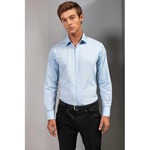 PREMIER Stretch fit skjorte herre