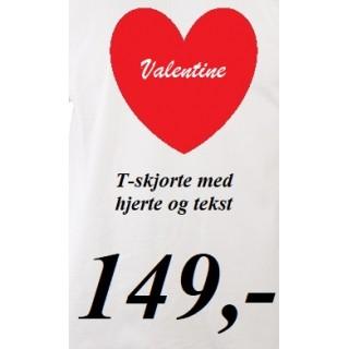 Valentine for herre, dame og barn