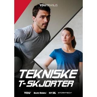 TEKNISKE T-SKJORTER KATALOG