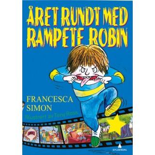 Året rundt med Rampete Robin (Innbundet)