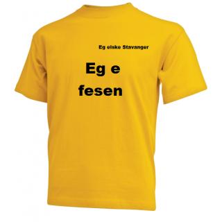 T-skjorter med budskap
